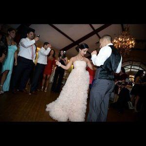 Pearl Marchesa Wedding Gown - Blush